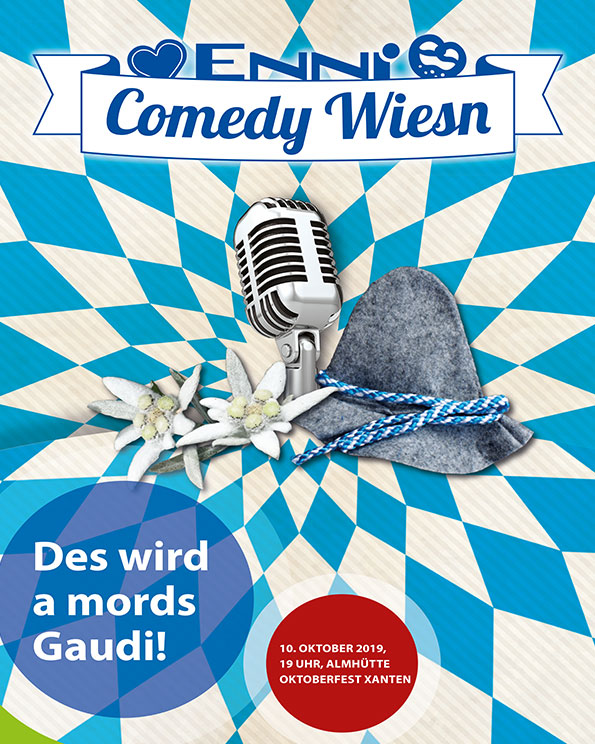 comedy wiesn poster